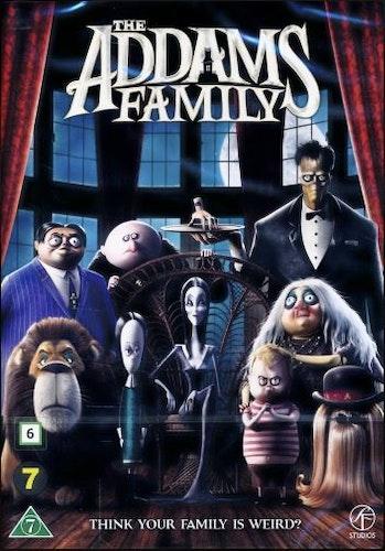 Familjen Addams DVD