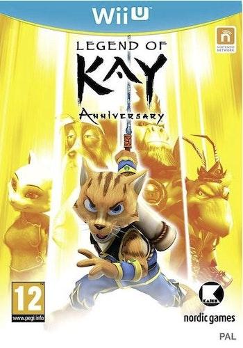Legend of Kay - Anniversary (Wii U)