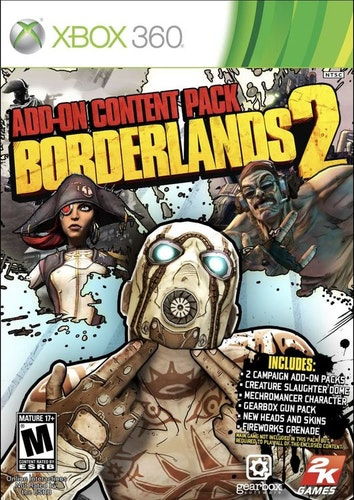 Borderlands 2 - Add-On Pack (Xbox 360)