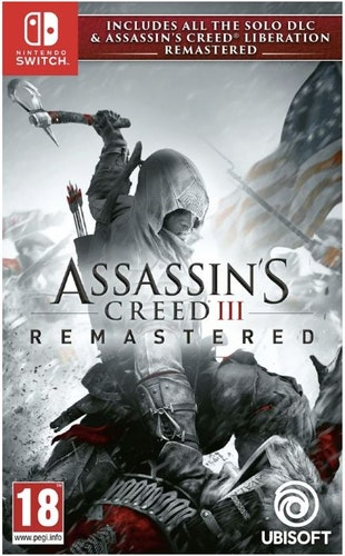 Assassin's Creed III: Liberation - Remastered (Switch)