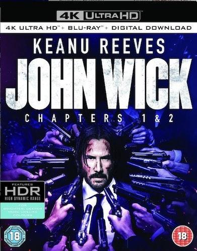 John Wick + John Wick - Chapter 2 4K Ultra HD (import)