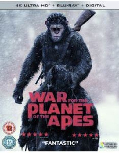 Planet Of The Apes - War For The Planet Of The Apes/Striden 4K Ultra HD
