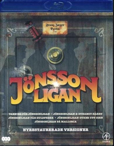 Jönssonligan - 5-Movie Collection bluray