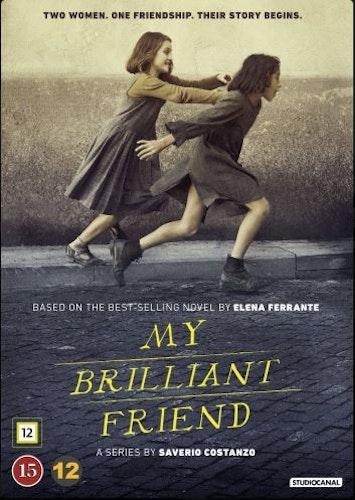 My Brilliant Friend - Säsong 1 DVD
