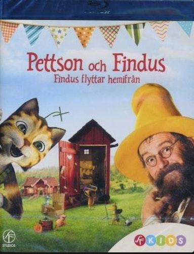 Pettson och Findus - Findus flyttar hemifrån (Blu-ray)