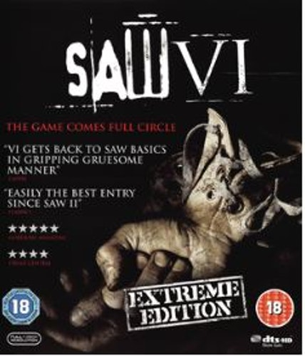 Saw VI - Extreme Edition Blu-Ray (import)
