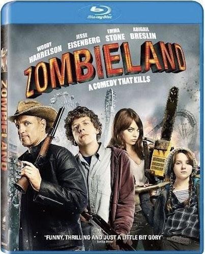 Zombieland bluray (Import Sv text)