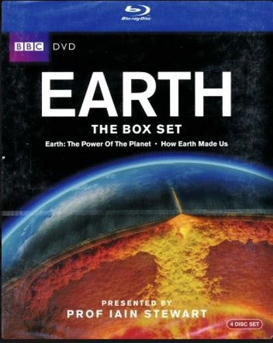 Earth - The Power Of The Planet / How Earth Made Us bluray (import)