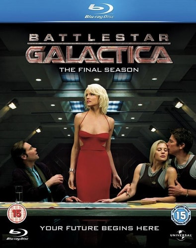 Battlestar Galactica Season 4 bluray (import)