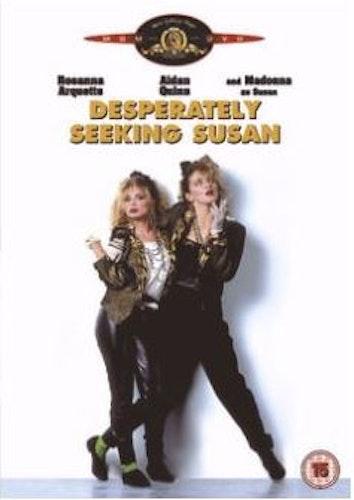 Desperately Seeking Susan/Susan var är du? DVD från 1985 (import)