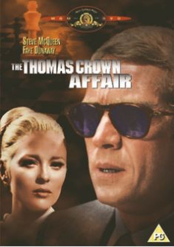 The Thomas Crown Affair DVD från 1968 (import Sv text)
