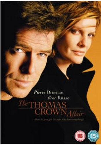 Äventyraren Thomas Crown/The Thomas Crown Affair DVD från 1999 (import Sv text)