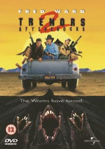 Hotet från underjorden 2/Tremors 2 - Aftershocks DVD (import Sv text)