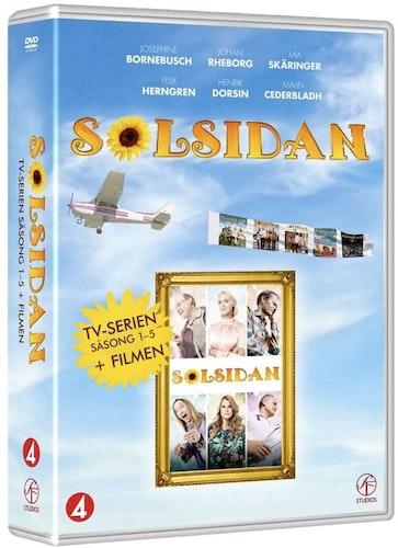 Solsidan - Säsong 1-5 + Filmen (11 disc) DVD