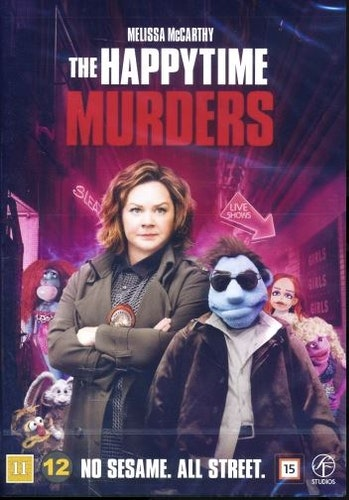 Happytime Murders DVD