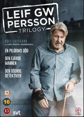 Leif GW Trilogi (En Pilgrims Död, Den Fjärde Mannen, Den Döende Detektiven) DVD