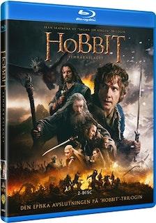 Hobbit: Femhäraslaget bluray