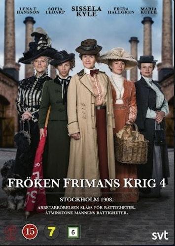 Fröken Frimans Krig - Säsong 4 DVD