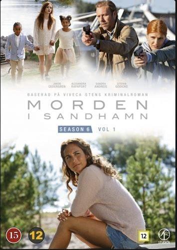 Morden i Sandhamn - Säsong 6 Vol. 1 DVD