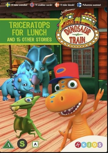 Dinosaurietåget - Triceratops kommer på lunch & 15 andra historier DVD