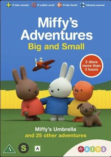 Miffys stora små äventyr, Miffys paraply & 25 andra äventyr DVD