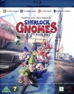 Mästerdetektiven Sherlock Gnomes (Blu-ray)