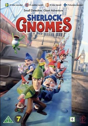 Mästerdetektiven Sherlock Gnomes DVD