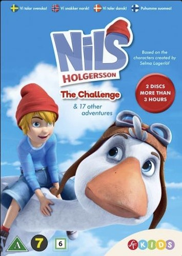 Nils Holgersson - Säsong 1-2 DVD