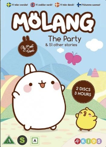 Molang - Säsong 1+2 (DVD)
