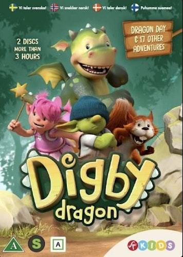 Draken Digby - Säsong 1 (2-disc) DVD