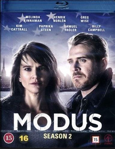 Modus - Säsong 2 (Blu-ray)