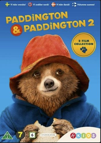 Paddington 1+2 Box DVD