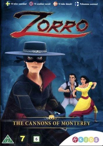 Zorro - Legenden föds - Säsong 1 Vol 2 DVD