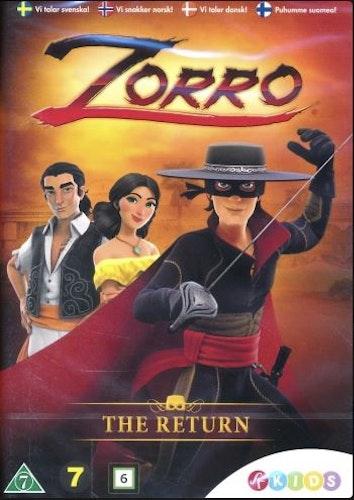 Zorro - Legenden föds - Säsong 1 Vol 1 DVD