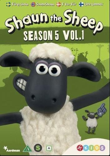 Fåret Shaun - Säsong 5 Vol 1 DVD