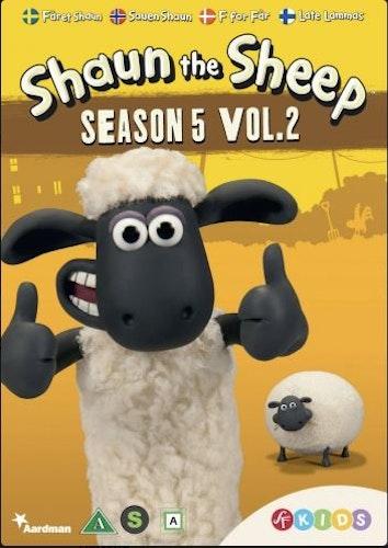 Fåret Shaun - Säsong 5 Vol 2 DVD