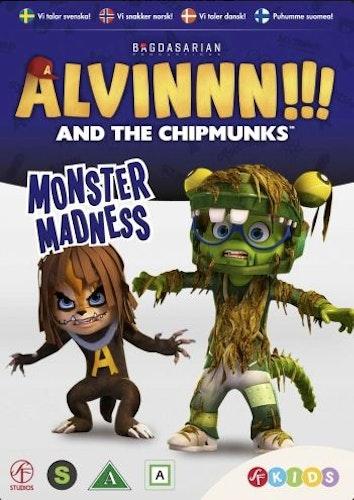 Alvinnn!!! och gänget - Säsong 2: Vol 4 - Monstervansinne DVD
