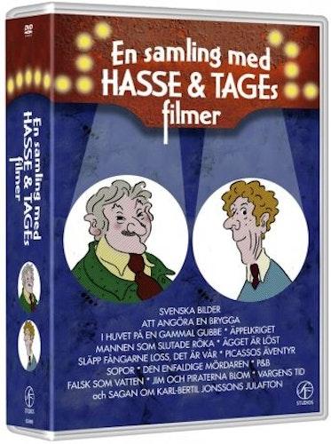 Hasse & Tage - En Samling Med Filmer (15-disc) DVD
