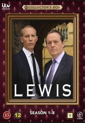 Lewis - Säsong 1-8 Box DVD