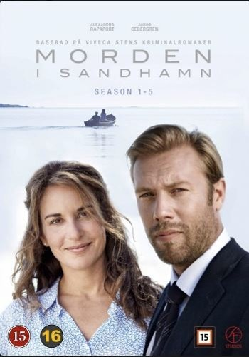 Morden i Sandhamn - Säsong 1-5 Box DVD