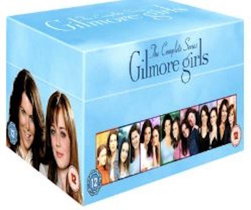 Gilmore Girls - Hela Serien (42-disc) DVD (import Sv text)