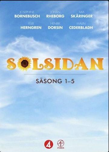 Solsidan - Säsong 1-5 Box DVD