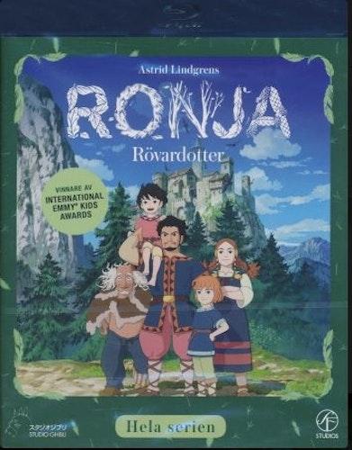 Ronja Rövardotter (Blu-ray) (3-disc)