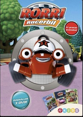 Rorri Racerbil - Box 1 DVD