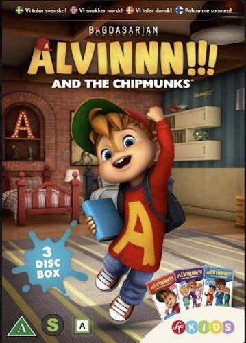 Alvinnn!!! och gänget - Box 1 (Säsong 1 Vol 1-3) DVD
