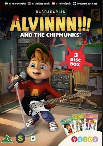 Alvinnn!!! och gänget - Box 2 (Säsong 1 Vol 4-6) DVD