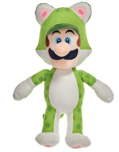 Gosedjur Nintendo - Luigi i grön ekorrdräkt