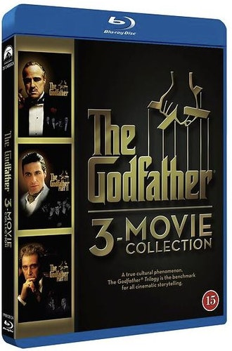 Gudfaderntrilogin Gudfadern - The Restored Trilogy bluray