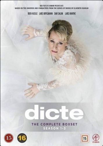Dicte - Säsong 1-3 box DVD
