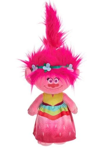 Poppy i jordgubbsklänning gosedjur från filmen Troll 30cm